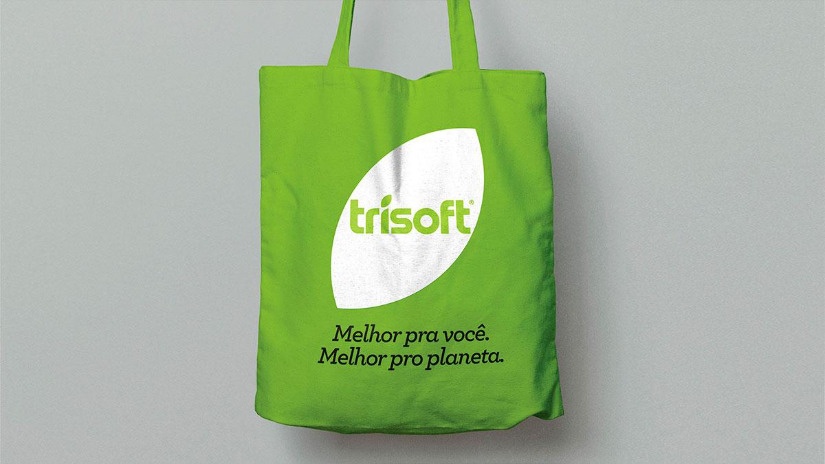 Não tecido para sacolas sustentáveis (ecobags) trisoft